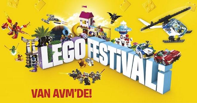 Van AVM'de Lego Festivali