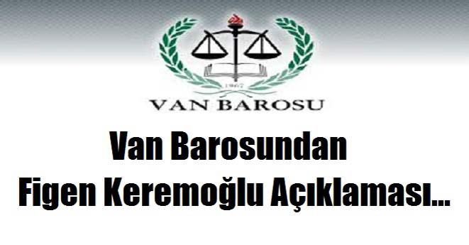 Van Barosu Basın Açıklaması