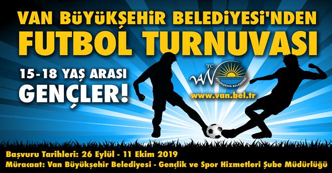 Van Büşükşehir'den Futbol Turnuvası