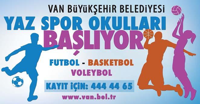 Van Büyükşehir Yaz Okulları