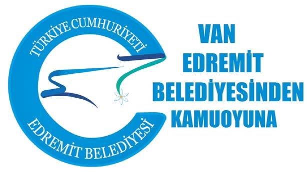 Van Edermit Belediyesi Duyuru