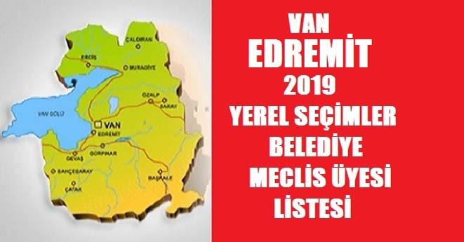 Belediye Meclis Üye Listesi