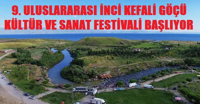 Erciş İnci Kefali Göçü Kültür ve Sanat Festivali Başlıyor