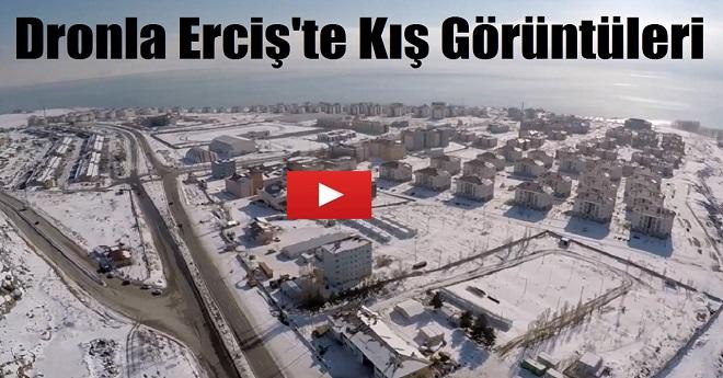 Dronla Erciş'in Kış Görüntüleri