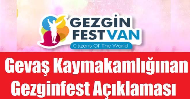 Gezginfest Van Açıklaması