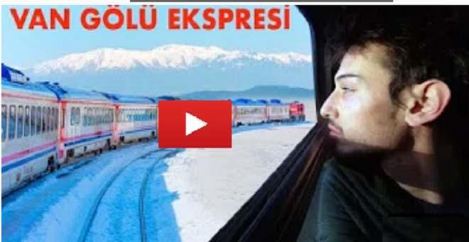 Ünlü Yotuber'dan Vangölü Ekspresi Vlogu