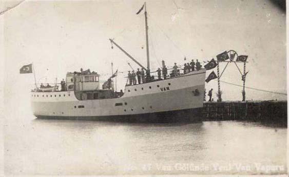 Van Gölü Gemileri