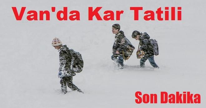 Van'da Kar Tatili