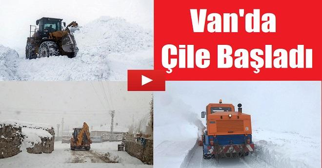 Van'da Kış Çilesi Başladı
