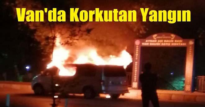 Van'da Yangın