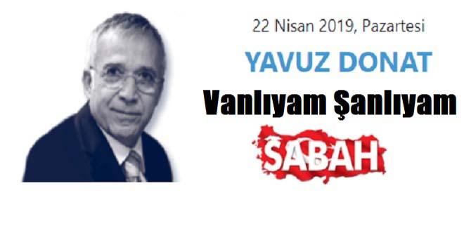 Yavuz Donat Van'ı Yazdı
