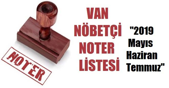 Van Nöbeteçi Noter