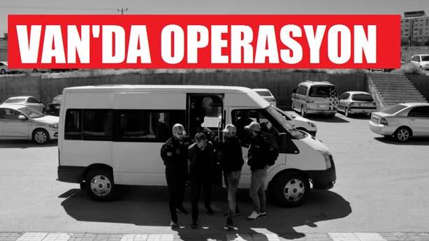 Van'da Operasyon
