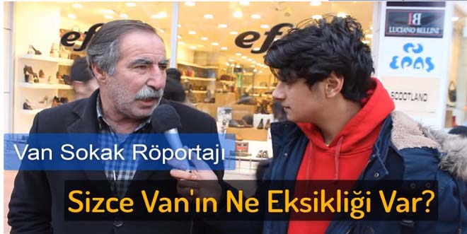 Van Sokak Röportajları