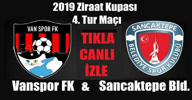 Vanspor - Sancaktepe Maçı