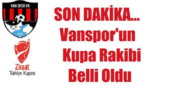 Vanspor Kupa Rakibi 2019