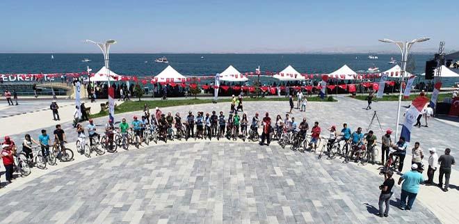 Van'da Bisiklet Etkinliği