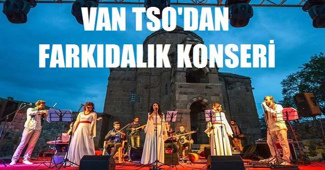 Van TSO'dan Akdamar Adasında Konser