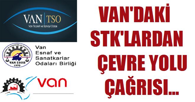 Van'daki STK'lardan Çevre Yolu Çağrısı