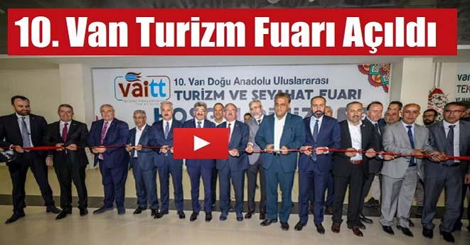 Van Turizm Fuarı Açıldı