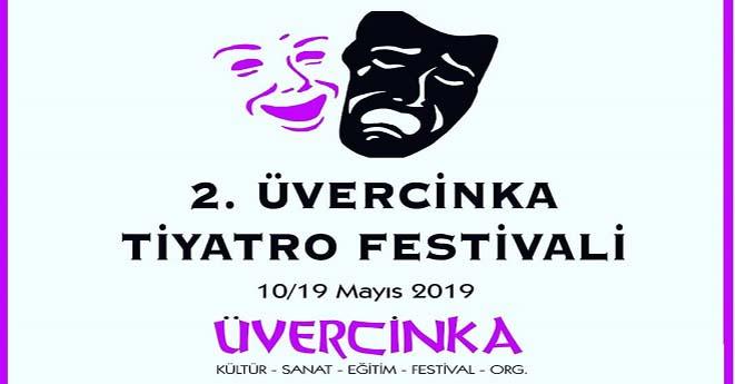 2.Üvercinka Tiyatro Festivali Başlıyor