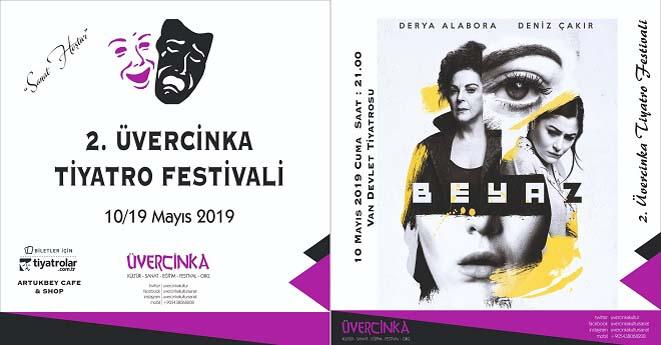 Van'da Üvercinka Tiyatro Festivali