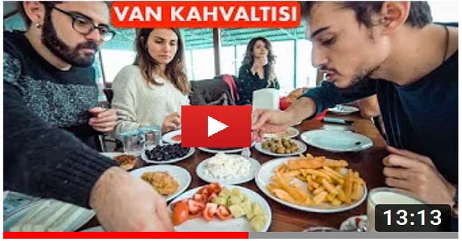 Kahvaltı için Van'a Gelen YouTuber