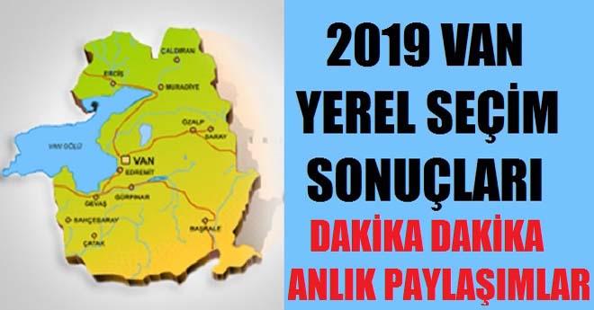 Van Seçim Sonuçları 2019