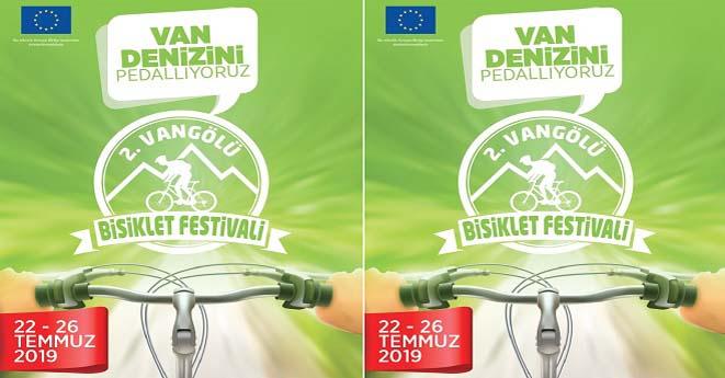 2.Van Denizi Bisiklet Şenliği Başlıyor