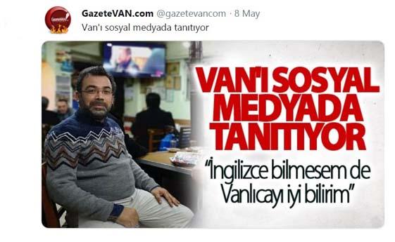 Van'ın Sosyal Medya Fenomeni