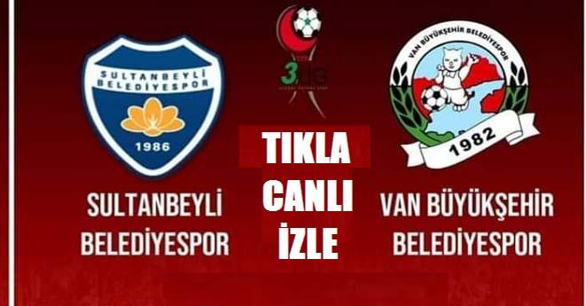 Sultanbeyli-Vanspor Maçı Başladı