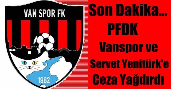 Vanspor'a Ceza Yağdı