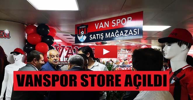 Vanspor Store Açıldı