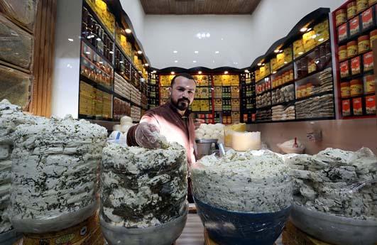 Tarihi Peynirciler Çarşısı